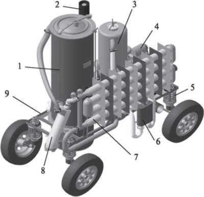 Универсальный газогенераторный